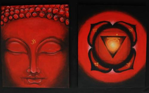 Healing Art - Buddha e Primo Chakra
