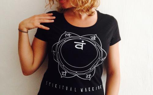 T-Shirt Donna Spirtual Warrior - 2° Chakra Svadhistana