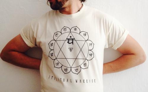 T-Shirt Uomo Spirtual Warrior - 4° Chakra Anahata